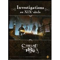 Cthulhu 1890 - Investigations au XIXe Siècle (jdr L'Appel de Cthulhu V6 en VF)