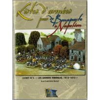 """Livret N°3: """"Les années terribles, 1812-1815""""  (supplément jeu de figurines DBN en VF)"""