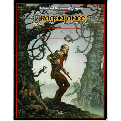 Dragonlance - DLS2 Tree Lords (jdr AD&D 2e édition en VO) 003