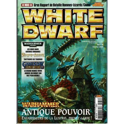 White Dwarf N° 178 (magazine de jeux de figurines Games Workshop en VF) 001