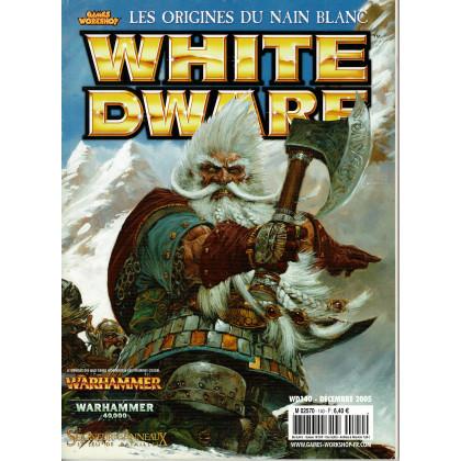 White Dwarf N° 140 (magazine de jeux de figurines Games Workshop en VF) 001
