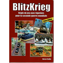 BlitzKrieg - Règle de jeu avec figurines pour la seconde guerre mondiale (Livre V2 en VF) 001