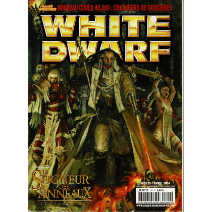 White Dwarf N° 120 (magazine de jeux de figurines Games Workshop en VF) 002