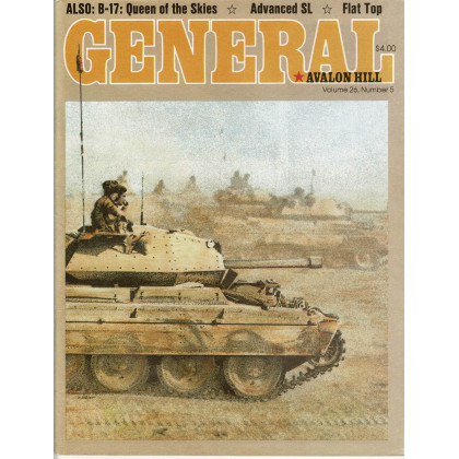 General Vol. 26 Nr. 5 (magazine jeux Avalon Hill en VO) 001