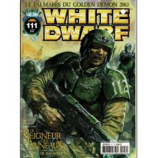 White Dwarf N° 111 (magazine de jeux de figurines Games Workshop en VF)
