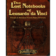 The Lost Notebooks of Leonardo da Vinci (Rpg Castle Falkenstein en VO)