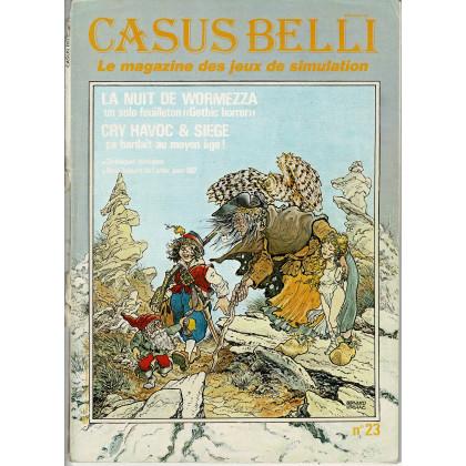 Casus Belli N° 23 (Le magazine des jeux de simulation) 005