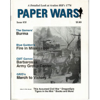 Paper Wars - Issue 35 (magazine wargames en VO) 001