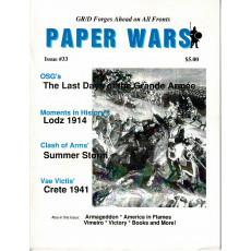Paper Wars - Issue 33 (magazine wargames en VO)