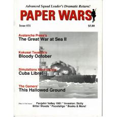 Paper Wars - Issue 31 (magazine wargames en VO)