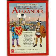 The Great Battles of Alexander Deluxe - The Macedonian Art of War 338-326 B.C. (wargame GMT en VO)