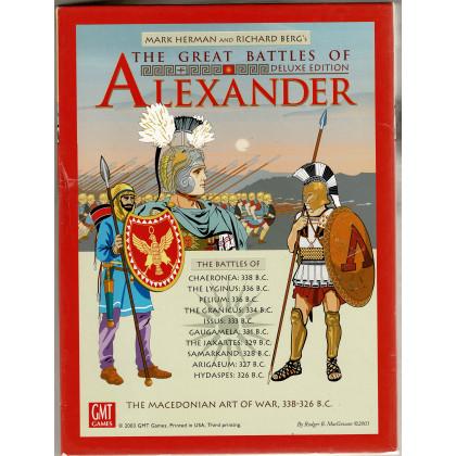 The Great Battles of Alexander Deluxe - The Macedonian Art of War 338-326 B.C. (wargame GMT en VO) 003