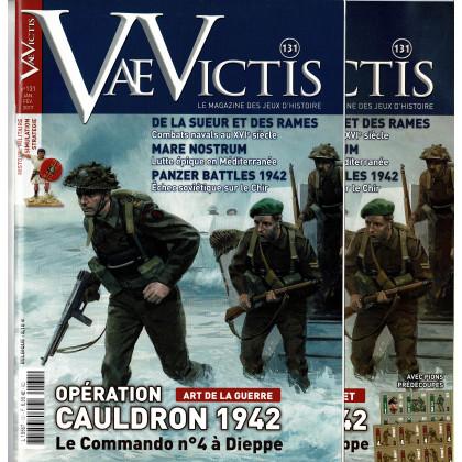 Vae Victis N° 131 avec wargame (Le Magazine du Jeu d'Histoire) 002