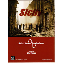 Sicily - A Fast Action Battle Game (wargame de GMT en VO)