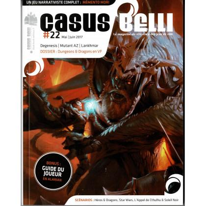 Casus Belli N° 22 (magazine de jeux de rôle - Editions BBE) 002