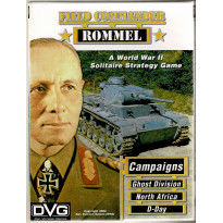 Field Commander Rommel - First Edition (wargame solitaire DVG en VO) 001