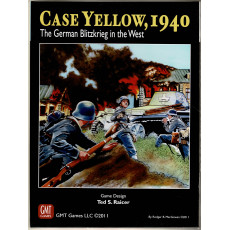Case Yellow 1940 - The German Blitzkrieg in the West (wargame GMT en VO)