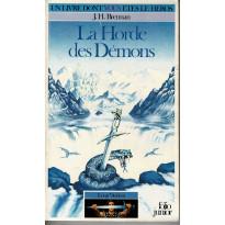 318 - La Horde des Démons (Un livre dont vous êtes le Héros - Gallimard)