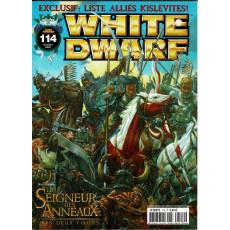 White Dwarf N° 114 (magazine de jeux de figurines Games Workshop en VF)