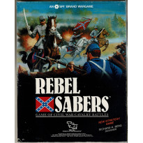 Rebel Sabers - Game of Civil War Cavalry Battles (wargame SPI-TSR en VO) 001