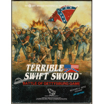 Terrible Swift Sword - Battle of Gettysburg Game (wargame SPI-TSR en VO)