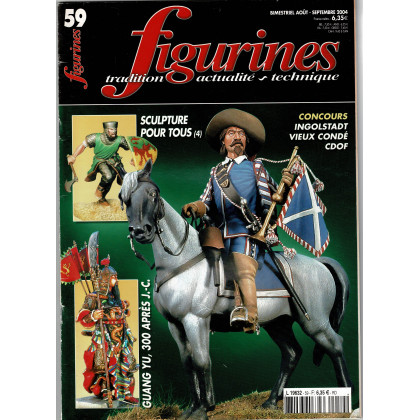 Figurines Magazine N° 59 (magazines de figurines de collection) 001