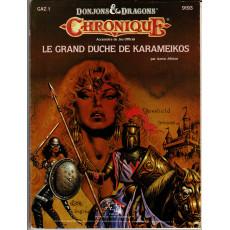 GAZ1 Le Grand Duché de Karameikos (jdr D&D Chronique 1ère édition en VF)