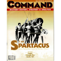 Command Magazine 15 (magazine d'histoire & de stratégie militaire en VO) 001