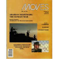Moves 63 (magazine de wargames en VO) 001