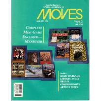 Moves 71 (magazine de wargames en VO) 001