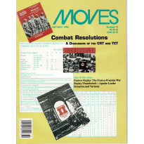 Moves 72 (magazine de wargames en VO) 001