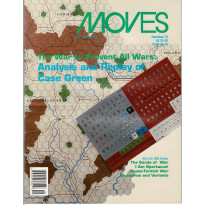 Moves 73 (magazine de wargames en VO) 001