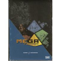 MEGA 5e Paradigme - Ecran & Scénarios (jdr éditions Leha en VF) 001