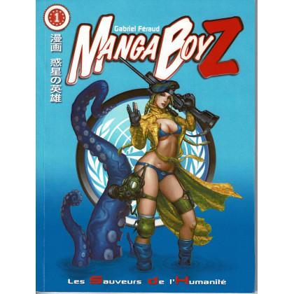 Manga BoyZ 1 - Les Sauveurs de l'Humanité (jdr Le Grimoire en VF) 001