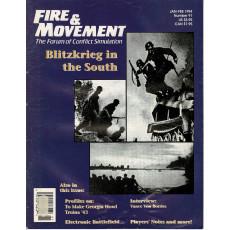 Fire & Movement 91 (magazine de wargames en VO)