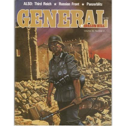 General Vol. 26 Nr. 2 (magazine jeux Avalon Hill en VO) 001