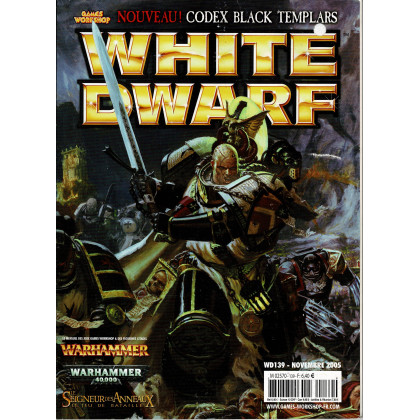 White Dwarf N° 139 (magazine de jeux de figurines Games Workshop en VF) 002