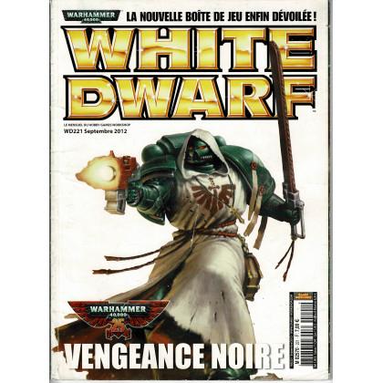 White Dwarf N° 221 (magazine de jeux de figurines Games Workshop en VF) 001