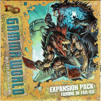Expansion Pack - Famine in Far-Go (jdr D&D 4 Gamma World Rpg en VO)