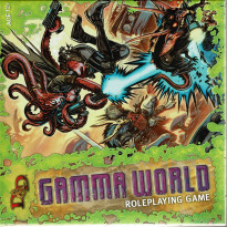 Gamma World Rpg - Boîte de base (jdr D&D 4 Wizards of the Coast en VO)