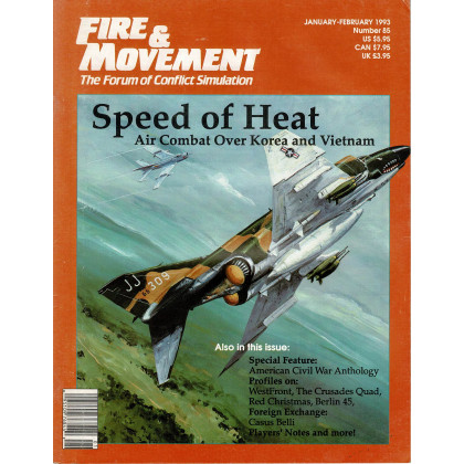 Fire & Movement 85 (magazine de wargames en VO) 001