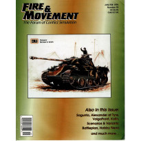 Fire & Movement 98 (magazine de wargames en VO)
