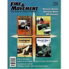 Fire & Movement 99 (magazine de wargames en VO)