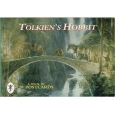 Tolkien's Hobbit - A Book of 20 Postcards (carnet de cartes postales couleur en VO)