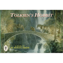 Tolkien's Hobbit - A Book of 20 Postcards (carnet de cartes postales couleur en VO) 001