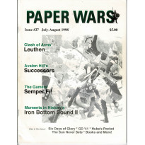 Paper Wars - Issue 27 (magazine wargames en VO) 001
