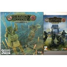 Lot Opération Commando - Pegasus Bridge & Sainte-Mère-Eglise (wargames d'Ajax Games en VF)