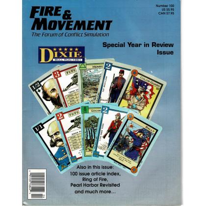 Fire & Movement 100 (magazine de wargames en VO) 001