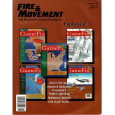 Fire & Movement 101 (magazine de wargames en VO)