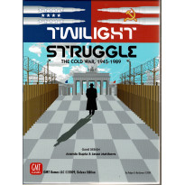 Twilight Struggle Deluxe Edition - The Cold War 1945-1989 (Boardgame/wargame GMT en VO) 002